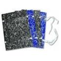 Desky spisové s tkanicí A3 modrý mramor