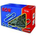 Spony kancelářské 32 mm RON 453 oblé balení 75ks
