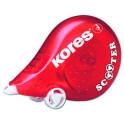 Korekční strojek Kores Scooter červený