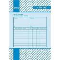 Paragon daňový doklad A6 2x50 čísl. OPTč.1041