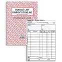 Dodací list - daňový doklad A4 PT150