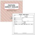 Faktura - daňový doklad 2/3 A4 PT200