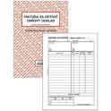 Faktura - daňový doklad A5 PT199