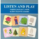 Sada karet s obrázky slovní zásoby