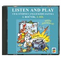 CD LISTEN AND PLAY With Animals! 2. díl (2 CD)