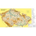 Náhradní mapa k učebnici Vlastivěda 5 – ČR jako součást Evropy