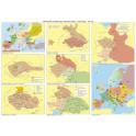 Časové přímky a mapy k učebnici Dějepis 7 – Středověk, počátky novověku