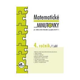 Matematické minutovky 4. ročník – 1. díl