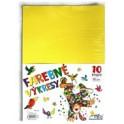 Kreslicí karton A4/125g mix 5 x 10 barev