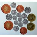 Didaktické peníze (mince) - sada na magnetickou tabuli redukovaná, 18ks
