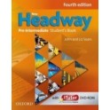 New Headway Pre-Intermediate  4th Edition -  Student´s Book (Czech Edition) + DVD
