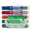 Popisovač bílá tabule Pilot V-Board Master Begreen sada 2.3mm