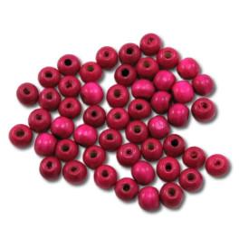Pedig - Korálky 10 mm –růžové 50 ks