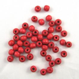 Pedig - Korálky 10 mm –červené 50 ks