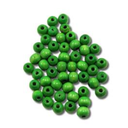 Pedig - Korálky 10 mm – zelené 50 ks