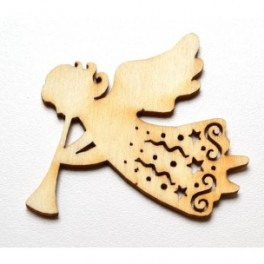 Dřevěné výřezy - vánoční anděl