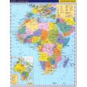 Afrika – příruční politická mapa