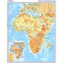 Afrika – příruční obecně zeměpisná mapa