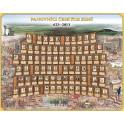 Panovníci Českých zemí 623 - 2013 - nástěnný obraz