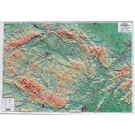 Plasticka Mapa Ceske Republiky Nastenna