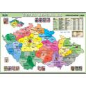 Česká republika - administrativní mapa XL (100 x 70 cm)