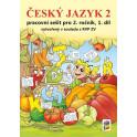 Český jazyk 2, 1. díl (barevný pracovní sešit)