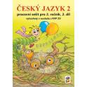 Český jazyk 2, 2. díl (barevný pracovní sešit)